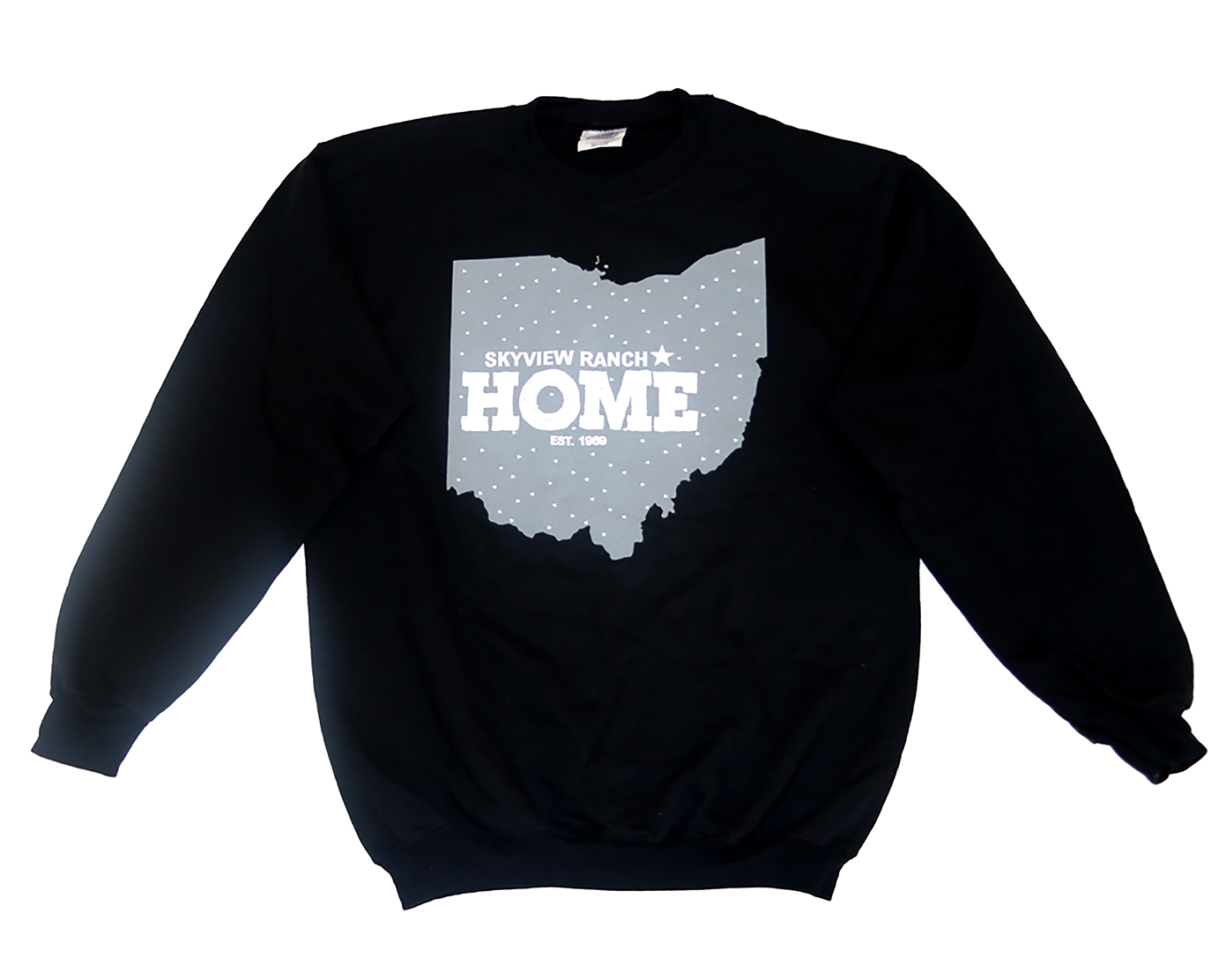 SVR Home Crewneck - Black